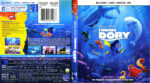 Finding Dory (2016) R1 Blu-Ray Cover & Labels