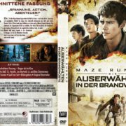 Maze Runner – Die Auserwählten in der Brandwüste (2015) R2 GERMAN Cover