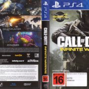 Call of Duty: Infinite Warfare (2016) PAL PS4 Cover & label