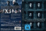 Game of Thrones Staffel 6 (2016) R2 German Custom Cover & labels