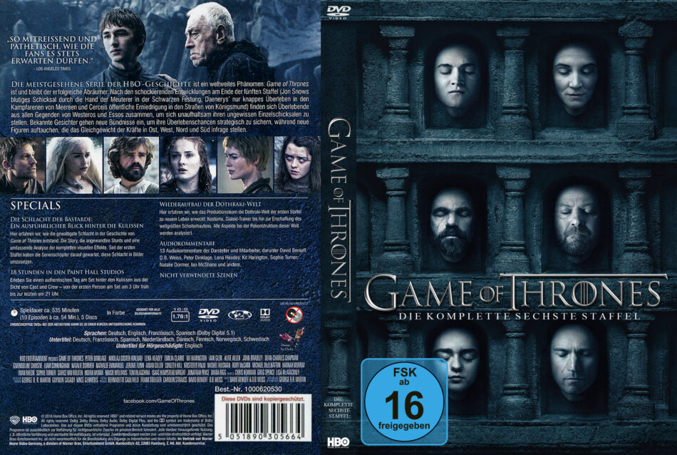 6. Staffel Game Of Thrones