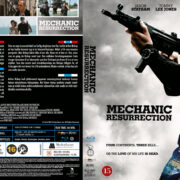 Mechanic Resurrection (2016) R2 Blu-Ray Nordic Cover