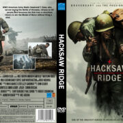 Hacksaw Ridge (2016) R0 Custom DVD Cover