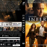 Inferno (2016) R0 Custom DVD Cover