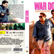 War Dogs (2016) R2 Custom DVD Swedish Cover
