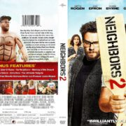 Neighbors 2: Sorority Rising (2016) R1 DVD Cover