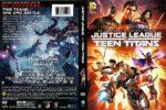 Justice League vs. Teen Titans (2016) R1 DVD Cover