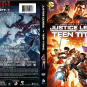 Justice League vs. Teen Titans (2016) R1 DVD Cover