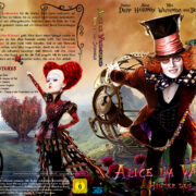 Alice im Wunderland: Hinter den Spiegeln 3D (2016) R2 Custom German Blu-Ray Cover