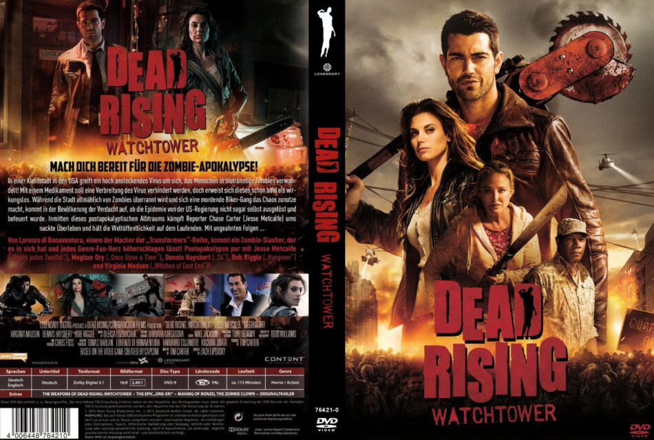 Dead Rising Watchtower Dvd Cover 2015 R2 German