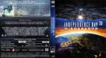 Independence Day – Wiederkehr 3D (2016) R2 German Blu-Ray Cover & Label