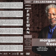 Morgan Freeman Film Collection - Set 4 (1987-1989) R1 Custom Covers