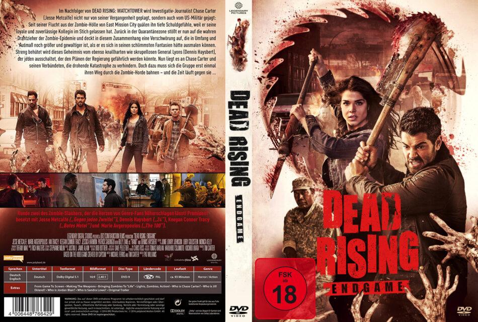 Dead Rising Endgame Dvd Covers Label 2016 R2 German Custom