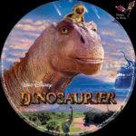 Dinosaurier Disney (2000) R2 German Custom Blu-Ray Label