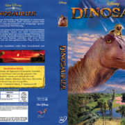 Dinosaurier Disney (2000) R2 German Custom Cover & label