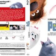 Pets (2016) R2 German Custom Blu-Ray Cover & labels