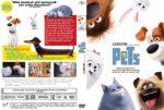 Pets (2016) R2 German Custom Cover & labels