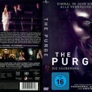 The Purge – Die Säuberung (2013) R2 German Custom Cover & label