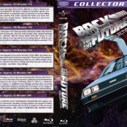 Back to the Future Collection (1985-2016) R1 Custom Blu-Ray Cover