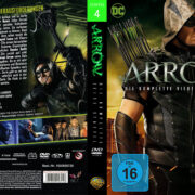 Arrow Staffel 4 (2016) R2 German Custom Cover & Labels