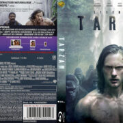 Legend of Tarzan (2016) R2 German Custom Blu-Ray Cover & Labels