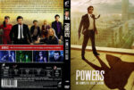 Powers Staffel 1 (2015) R2 German Custom Cover & labels