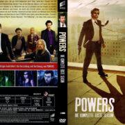 Powers Staffel 1 (2015) R2 German Custom Cover & labels