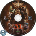 31 (2016) R4 Blu-Ray Label