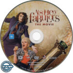 Absolutely Fabulous: The Movie (2016) R4 DVD Label