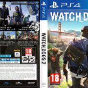 Watch Dogs 2 (2016) PS4 German Cover