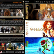 Labyrinth / Willow / How the Grinch Stole Christmas Triple (1986-2000) R1 Custom Cover