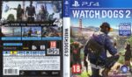 Watch Dogs 2 (2016) PAL PS4 Cover & Label