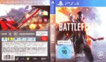 Battlefield 1 (2016) PS4 German Cover & Label