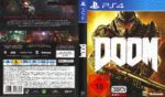 DOOM (2016) PS4 German Cover & Label