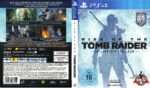 Rise of the Tomb Raider (2016) PS4 German Custom Cover & Label