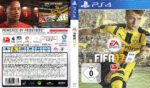FIFA 17 (2016) PS4 German Cover & Label