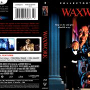 Waxwork (1988) R1 Blu-Ray Cover & Label