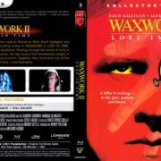 Waxwork 2 (1992) R1 Blu-Ray Cover & Label