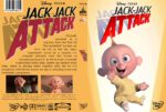 The Incredibles Jack Jack Attack (2011) R0 Custom HD DVD Cover