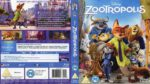 Zootropolis (2016) R2 Blu-Ray Cover & Label