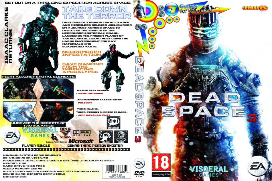 Dead Space 3 Dvd Cover 2013 Pc Custom