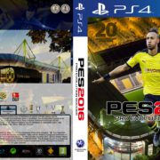 Pro Evolution Soccer 2016 (2015) PS4 Dortmund Edition Custom German Covers