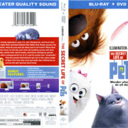 The Secret Life Of Pets (2016) R1 Blu-Ray Cover & Labels