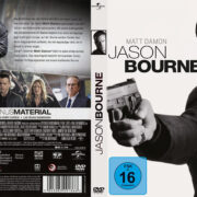 Jason Bourne (2016) R2 German Custom Cover & label