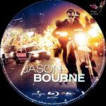 Jason Bourne (2016) R2 German Custom Blu-Ray Labels