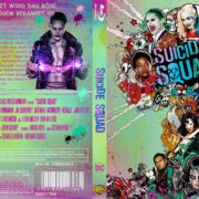 Suicide Squad (2016) R2 German Custom Blu-Ray Cover & labels