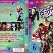 Suicide Squad (2016) R2 German Custom Cover & labels