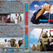 Bruce Almighty / Evan Almighty Double Feature (2003-2016) R1 Custom Blu-Ray Cover