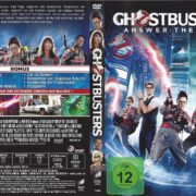 Ghostbusters (2016) R2 German DVD Cover