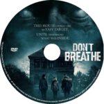 Don't Breath (2016) R0 CUSTOM Label
